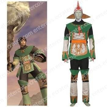 Final Fantasy X-2 Summoner Cosplay Costume  any size.