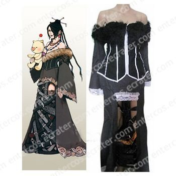 Final Fantasy X Lulu Halloween Cosplay Costume  any size.