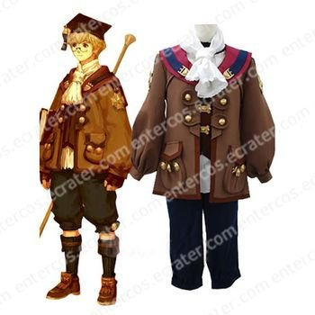 Final Fantasy XI AF Cosplay Costume  any size.