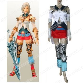 Final Fantasy XII Ashe Cosplay Costume   any size.