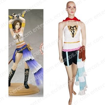 Final Fantasy Xii Yuna Cosplay Costume  any size.
