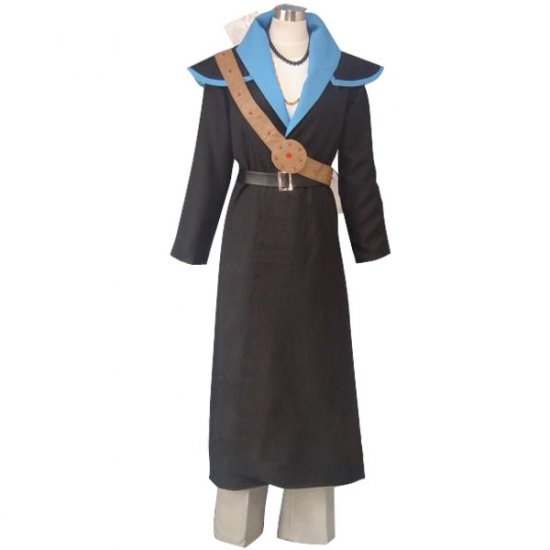 Black Fushigi Yûgi Tasuki Cosplay Costume any size.