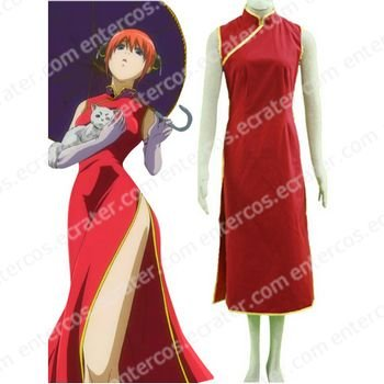 Gin Tama Kagura I Cosplay Costume   any size.