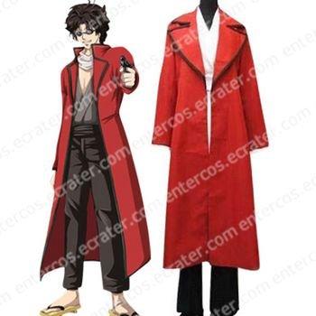 Gin Tama Tatsuma Sakamoto Cosplay Costume any size.