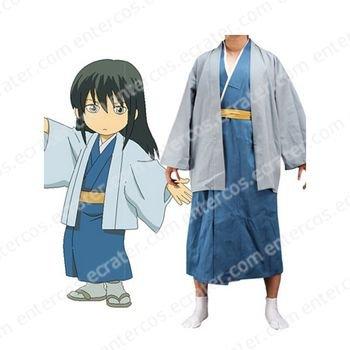 Gintama Katsura Kotarou Cosplay Costume  any size.