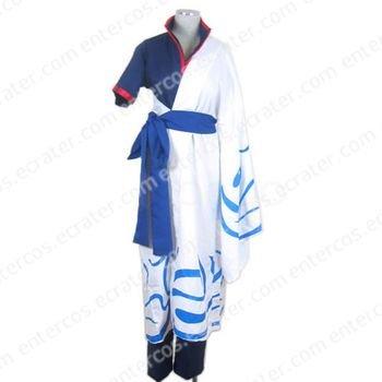 Gintama Silver Soul Sakata Gintoki Cosplay Costume any size.