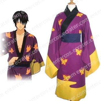 Gintama Takasugi Shinsuke Cosplay Costume any size.