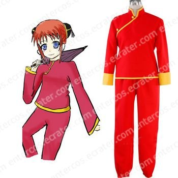 Silver Soul Kagura Cosplay Costume any size.