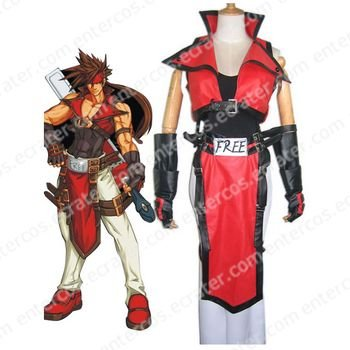 Guilty Gear Cosplay Costume   any size.
