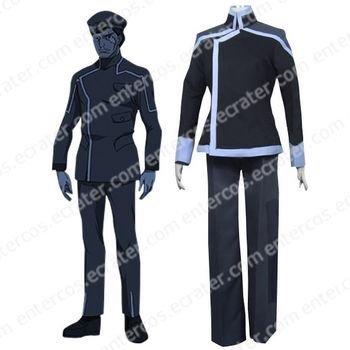 Gundam 00 Sergei Smirnov Cosplay Costume  any size.