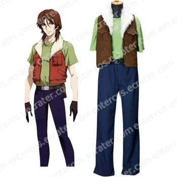Mobile Suit Gundam 00 Lockon Stratos Private Version Cosplay Costume any size.