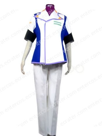 Gundam Seed Mwu La Flaga Cosplay Costume  any size.