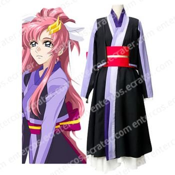 Mobile Suit Gundam SEED Lacus Clyne Chair Version Cosplay Costume any size.