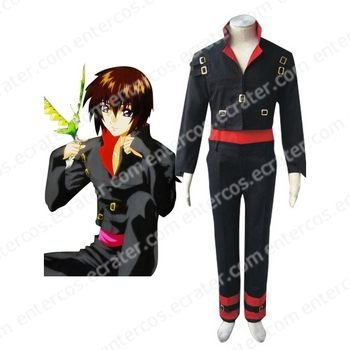 Mobile Suit Gundam SeedDestiny Kira Yamato Halloween Cosplay Costume any size.