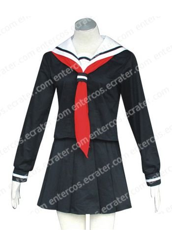 Hell Girl Ai Enma Halloween Cosplay Costume  any size