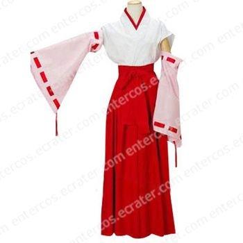 Higurashi no Naku Koro ni Hanyu Furude Cosplay Costume any size