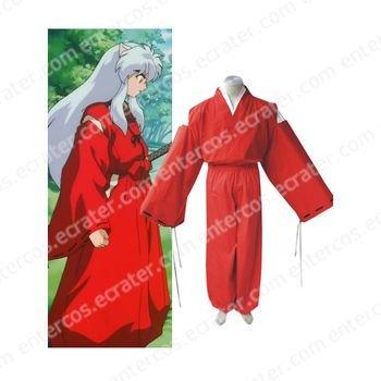 InuYasha Feudal Fairy Tale InuYasha Cosplay Costume  any size