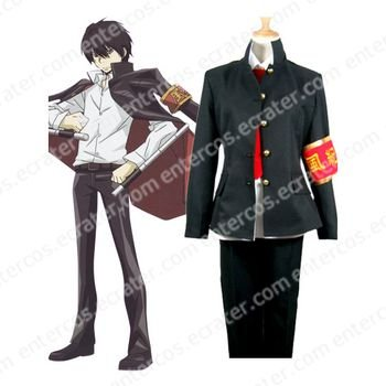 Kateky� Hitman Reborn HibariKyoya Halloween Cosplay Costume any size