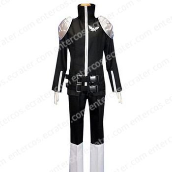 Kateky� Hitman Reborn! Black Byakuran Cosplay Costume any size