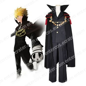 Reborn! Vongola Family Vongola Primo Cosplay Costume any size