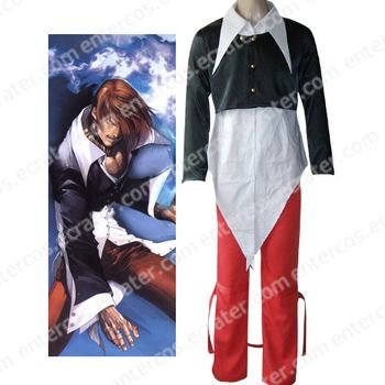 King of Fighter's Iori Yagami Halloween Cosplay Costume any size