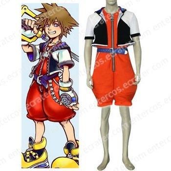 Kingdom Hearts1 Sora Halloween Cosplay Costume  any size