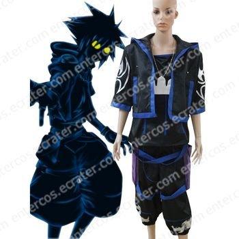 Kingdom Hearts Anti Sora Halloween Cosplay Costume any size