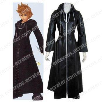 Kingdom Hearts Organization XIII Roxas Halloween Cosplay Costume any size