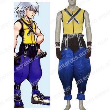 Kingdom Hearts Riku Halloween Cosplay Costume any size
