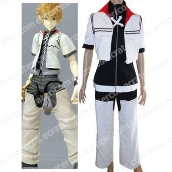 Kingdom Hearts Roxas Halloween Cosplay Costume  any size