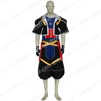 Kingdom Hearts Sora Halloween Cosplay Costume any size