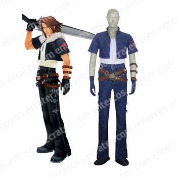 Kingdom Hearts Squall Halloween Cosplay Costume 1 any size