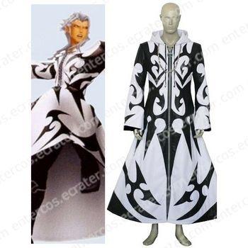 Kingdom Hearts Xemnas Cosplay Costume any size