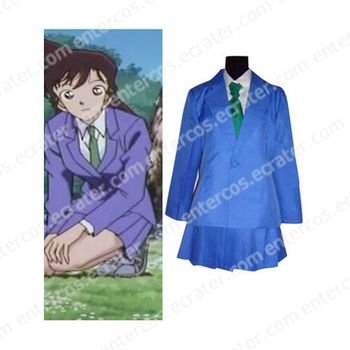 Detective Conan Mouri Ran Cosplay Costume any size