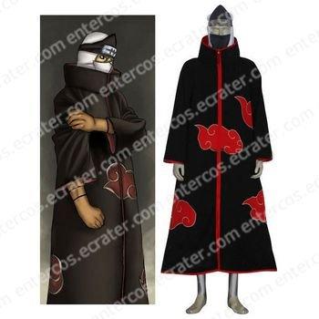 Naruto Akatsuki Kakuzu Halloween Cosplay Costume any size