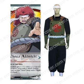 Naruto Chouza Akimichi Cosplay Costume  any size