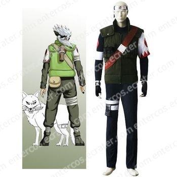 Naruto Hatake Sakumo Cosplay Costume any size