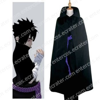 Naruto Sarutobi Sasuke Halloween Cosplay Costume  any size