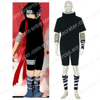 Naruto Sasuke Uchiha Halloween Cosplay Costume any size