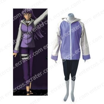 Naruto Shippuden Hinata Hyuga Cosplay Halloween Costume any size
