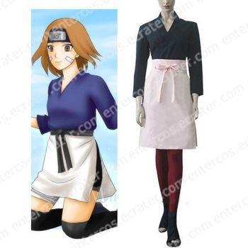 Naruto Shippuden Rin Cosplay Costume any size