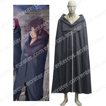 Naruto Team Hebi Cloak Cosplay Costume any size