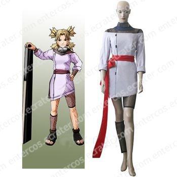 Naruto Temari Chunin Exam Cosplay Costume any size