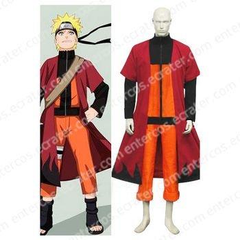 Naruto Uzumaki Halloween Cosplay Costume any size