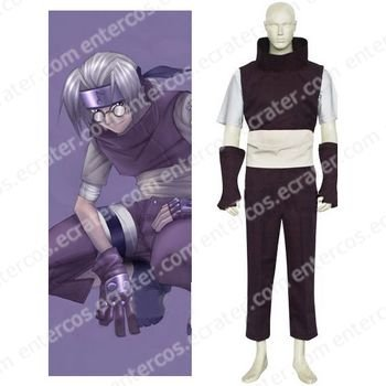 Naruto Yakushi Kabuto Cosplay Costume any size