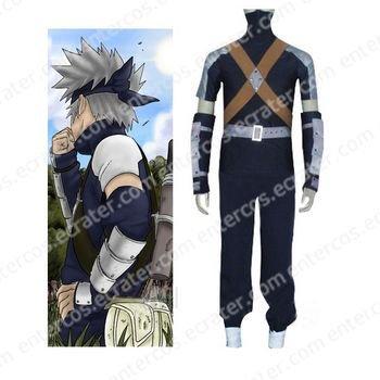 Naruto Young Kakashi Cosplay Costume  any size