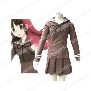Ouran High School Host Club Girl Uniform Halloween Cosplay Costume any size