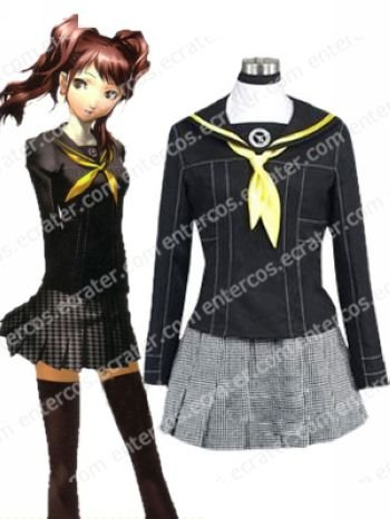 Shin Megami Tensei Persona 3 Gekkoukan High School Female Uniform Cosplay Costume any size