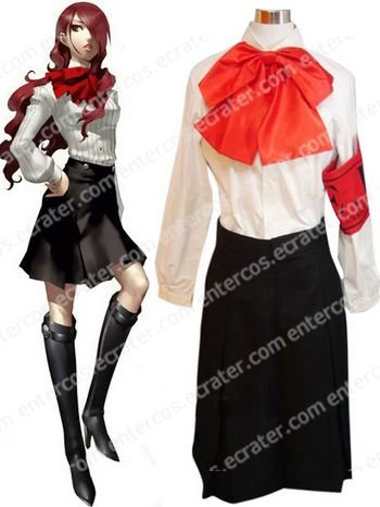 Shin Megami Tensei Persona 3 Mitsuru Kirijo Halloween Cosplay Costume any size