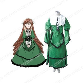 Rozen Maiden Jade Stern Halloween Cosplay Costume any size